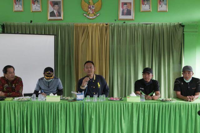 Wakil Bupati Pringsewu Sosialisasikan Penanggulangan DBD & Covid-19