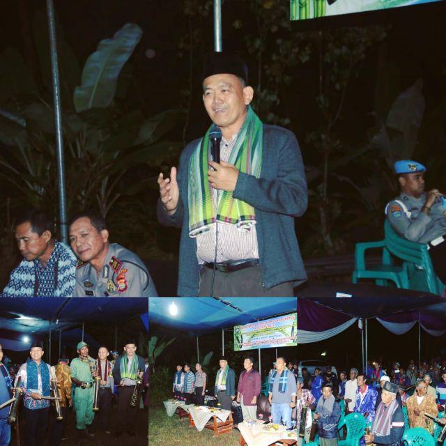Fauzi Launching 1 Rumah 1 Kentongan