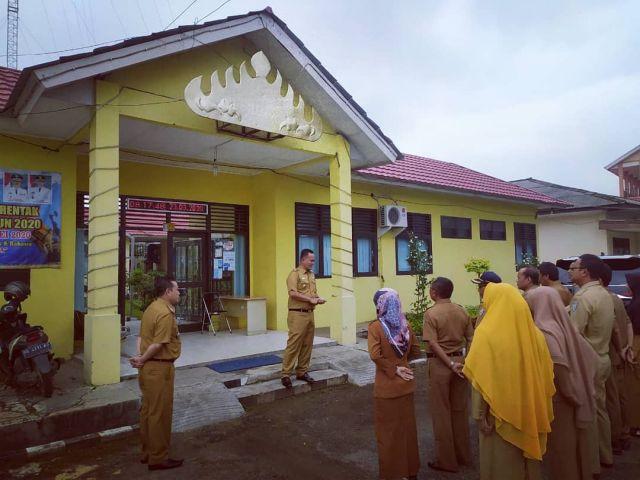 Wabup Pringsewu Kunjungi Kecamatan Gadingrejo