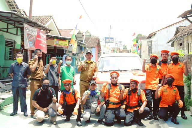 Antisipasi Wabah Corona, RAPI Wilayah XII Kabupaten Pringsewu Bakti Sosial Semprot Disinfektan ke Sejumlah Lokasi