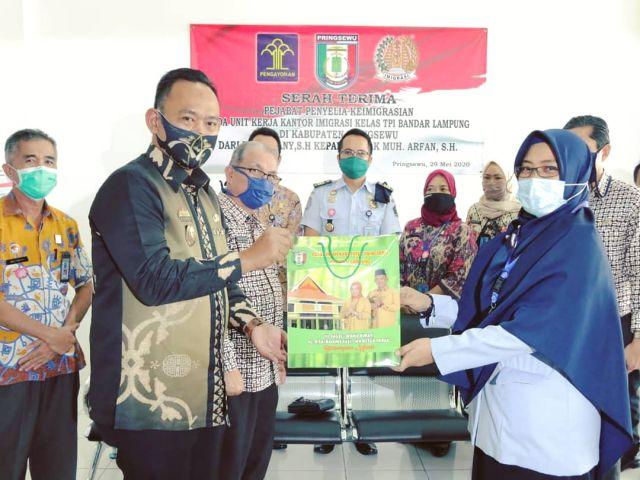Pejabat Penyelia Keimigrasian UKK Imigrasi Kelas I TPI Bandar Lampung di Pringsewu Diganti